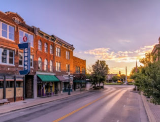 Stroll Down One of America's Most Beautiful Main Streets
