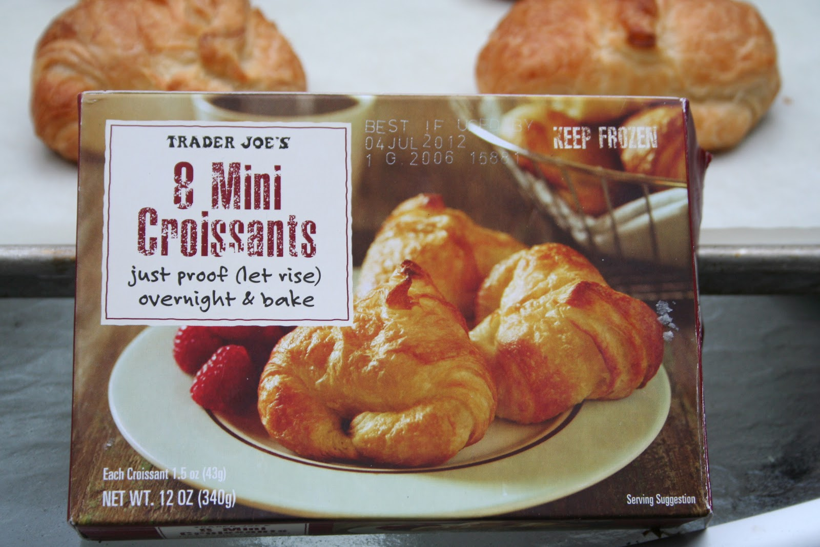 Trader Joe's 8 Mini Croissants