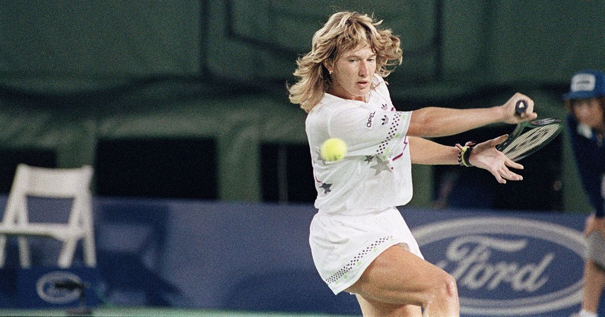 Steffi Graf at 88s Australian Open