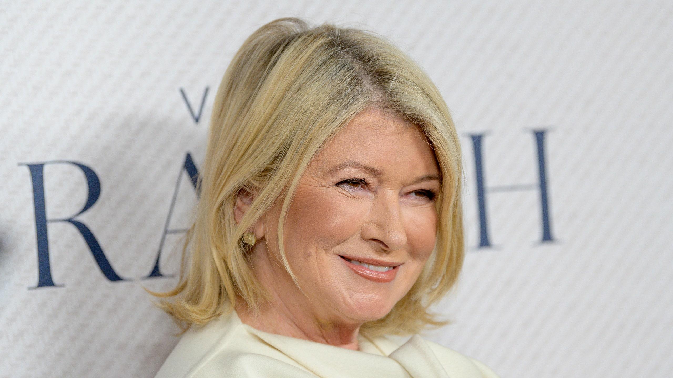 Martha Stewart Portrait