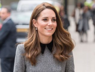 Kate Middleton Re-Wears a Royal Blue Gown by Her Favorite Jenny Packham