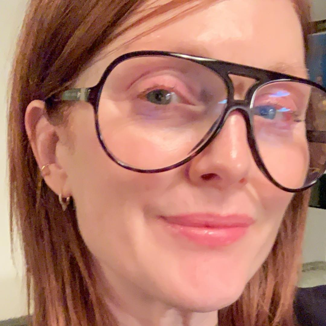 Julianne Moore without makeup