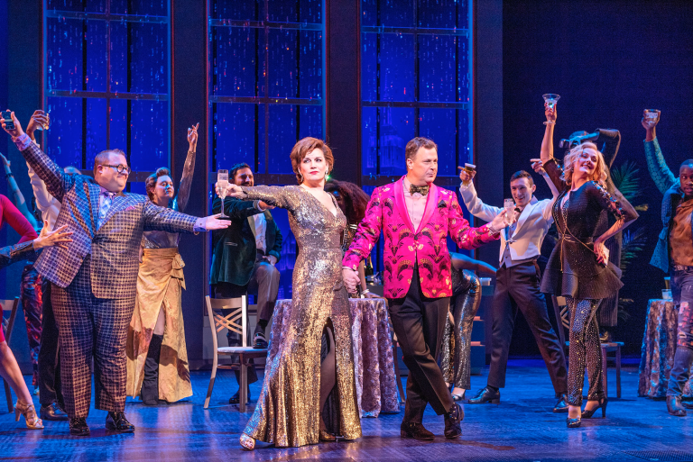 A scene from the Broadway performance of The Prom