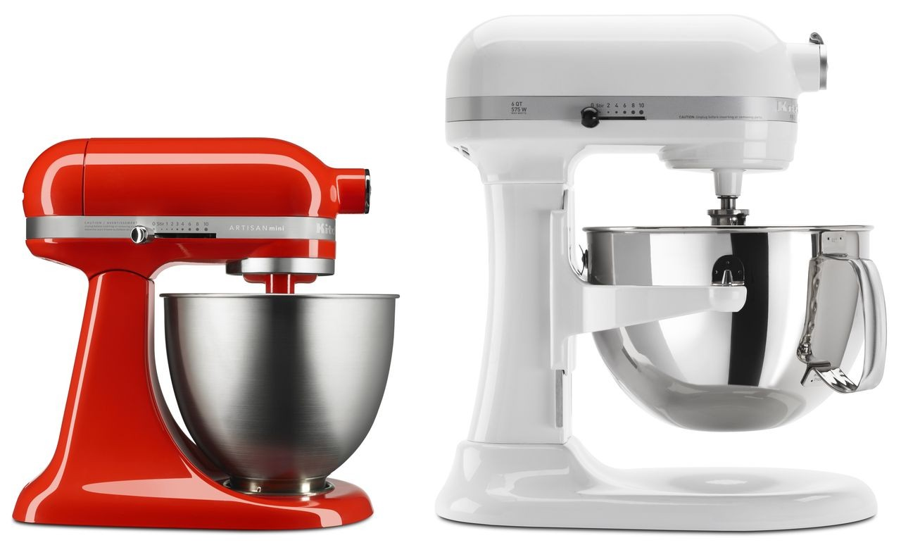 KitchenAid's Artisan Mini Stand Mixer