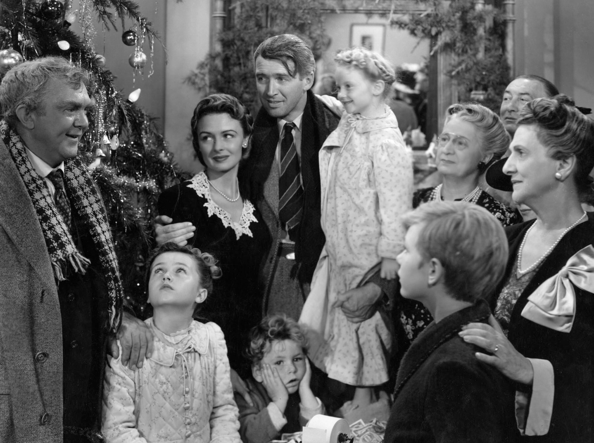 A scene from It's a Wonderful Life (1946)