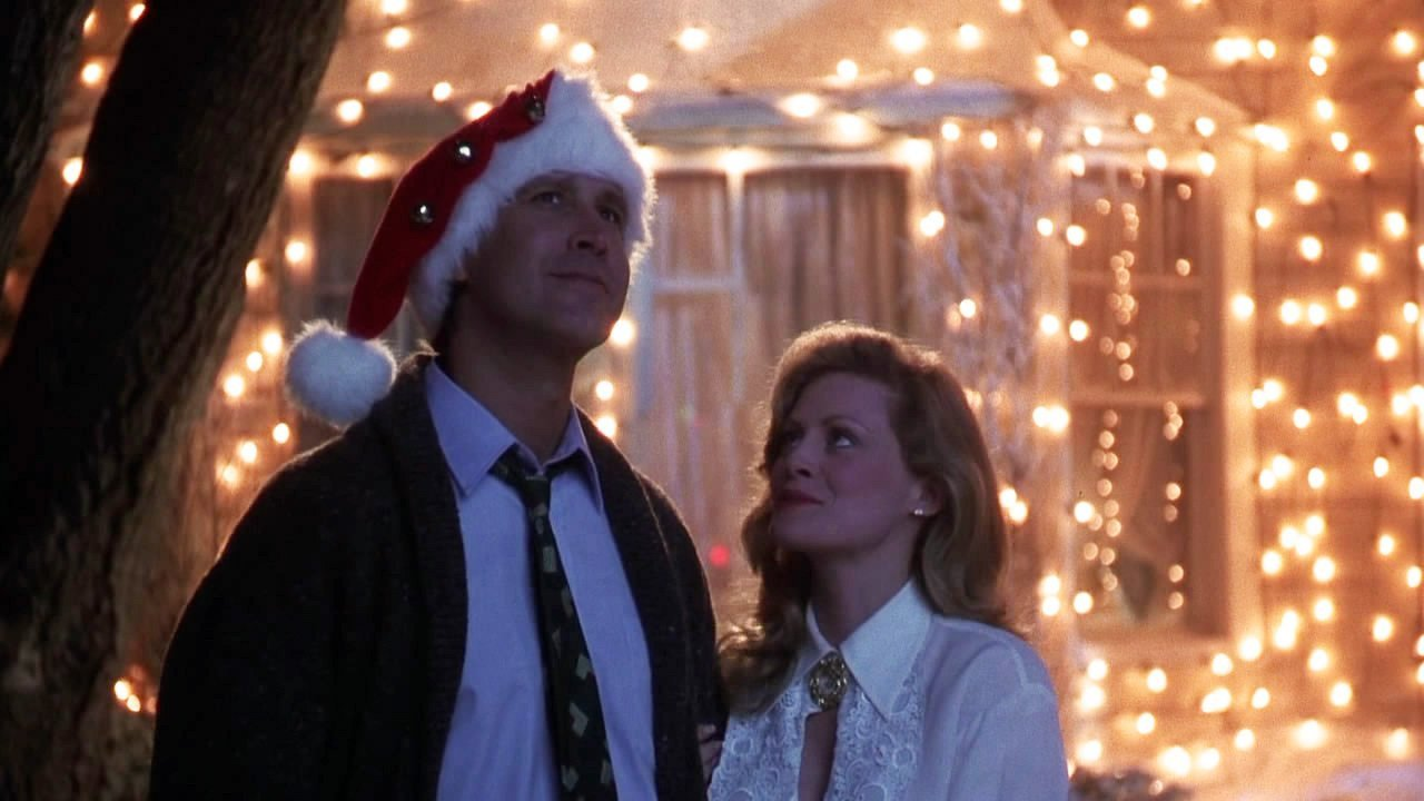 A scene from National Lampoon's Christmas Vacation (1989)