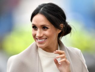 Meghan Markle Hints at Britain by Wearing a Victoria Beckham Blouse