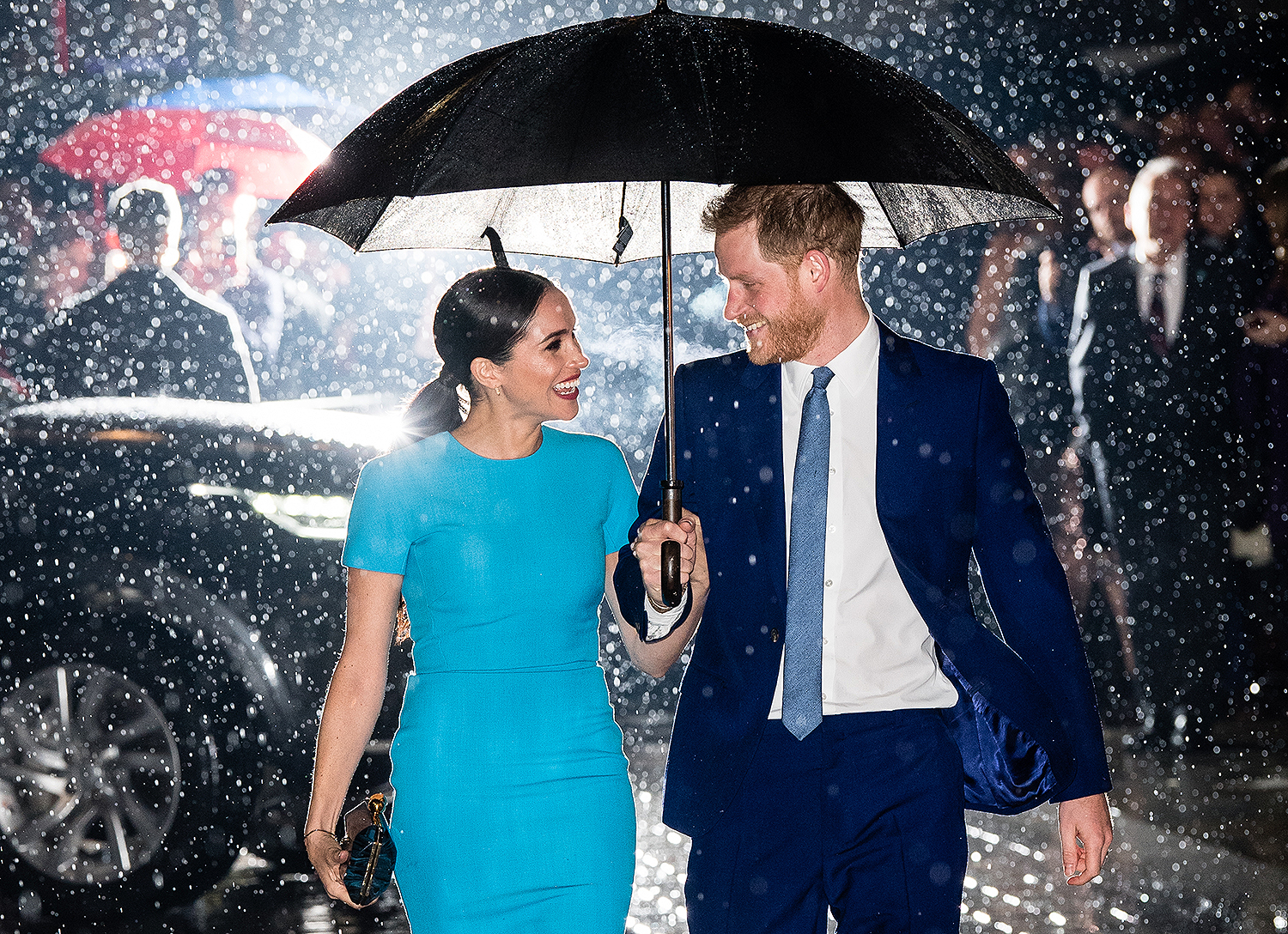 Meghan Markle and Prince Harry's last royal appearance at the annual Endeavour Fund Awards in London, 2020