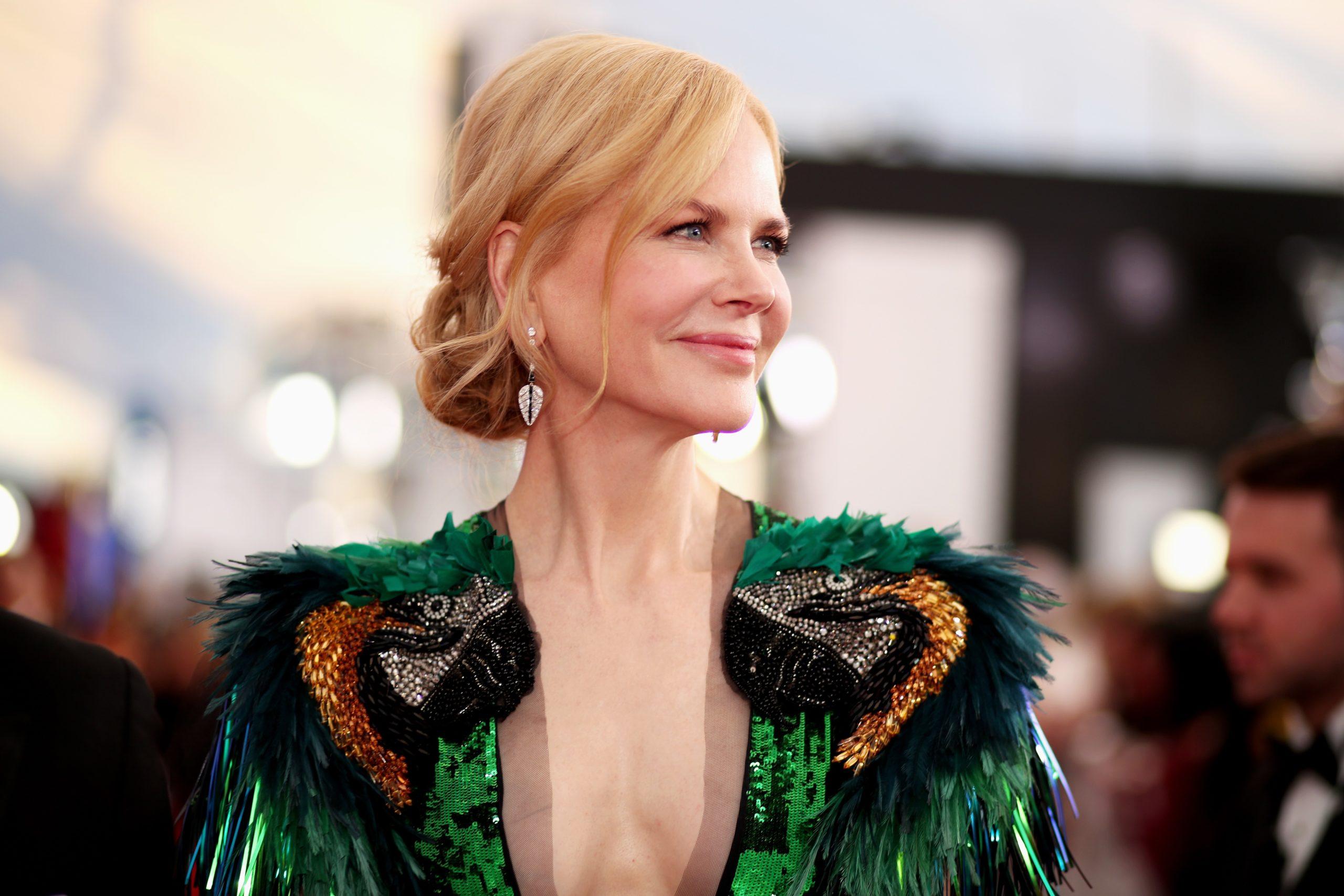 Nicole Kidman on the red carpet
