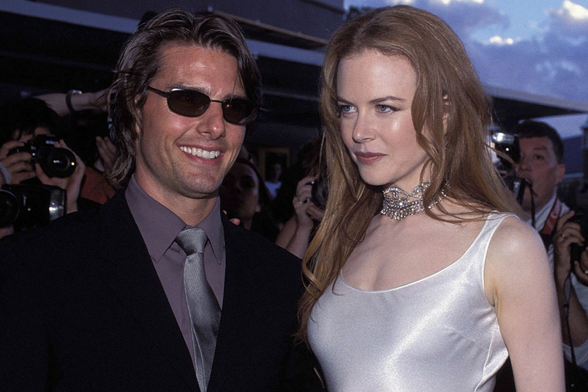 Nicole Kidman with Ex-Husband Tom Cruise on the red carpet