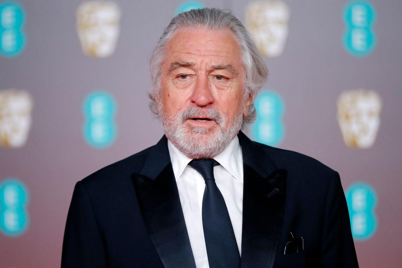 Actor Robert De Niro at the red carpet