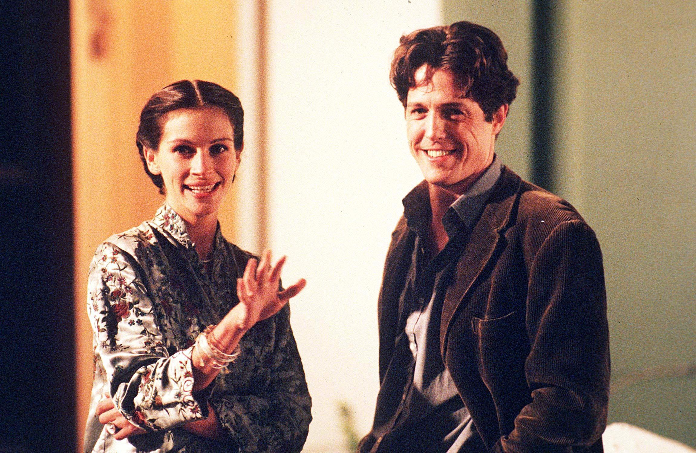 Hugh Grant & Julia Roberts in Notting Hill