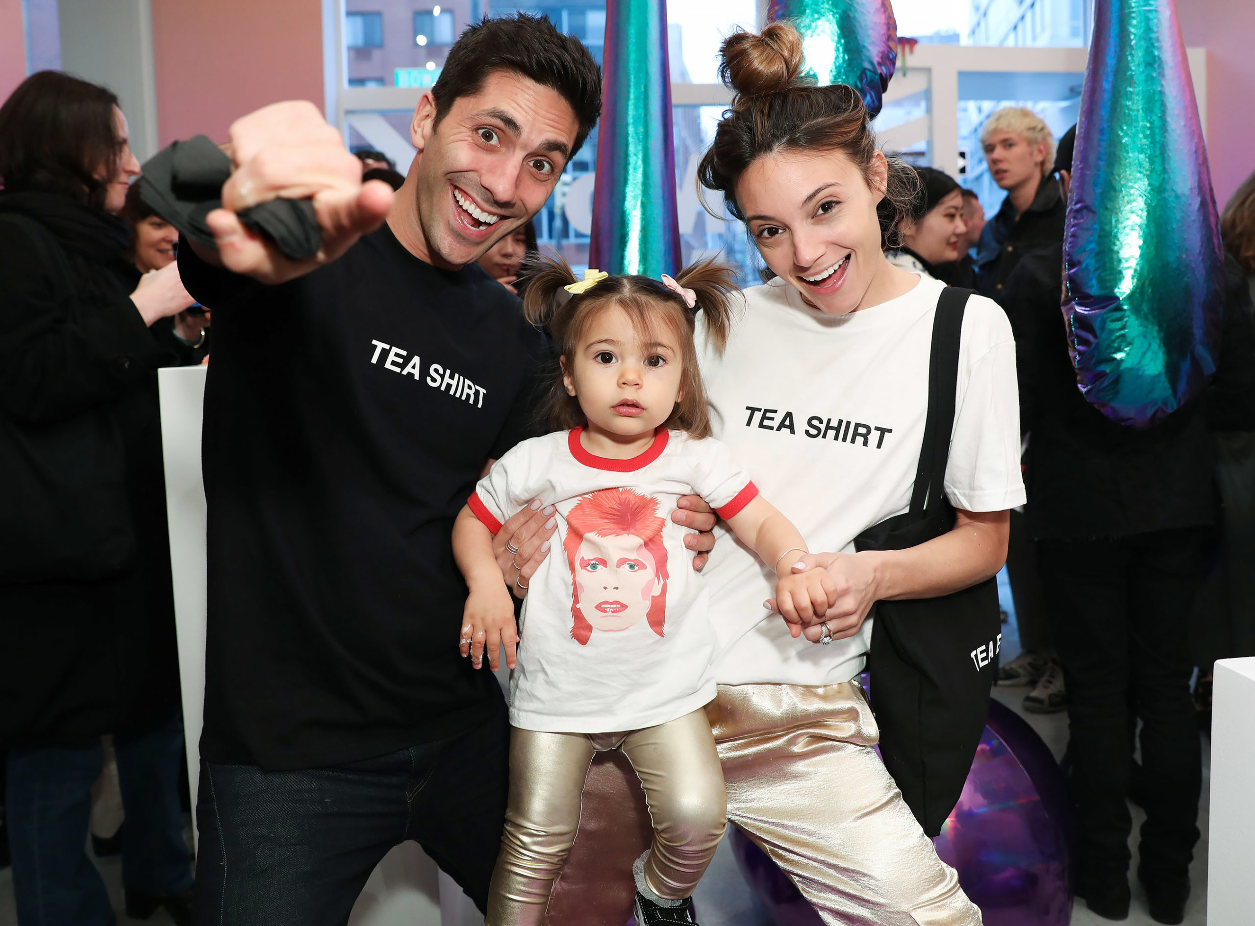 Nev Schulman with his family