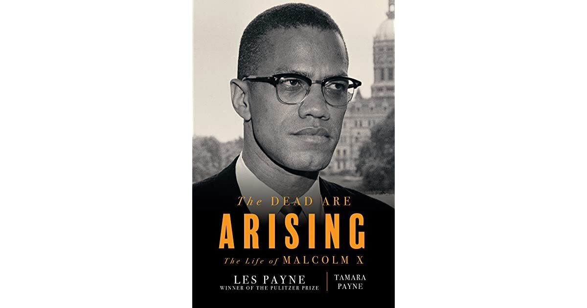 Book cover - The Dead Are Arising: The Life of Malcolm X