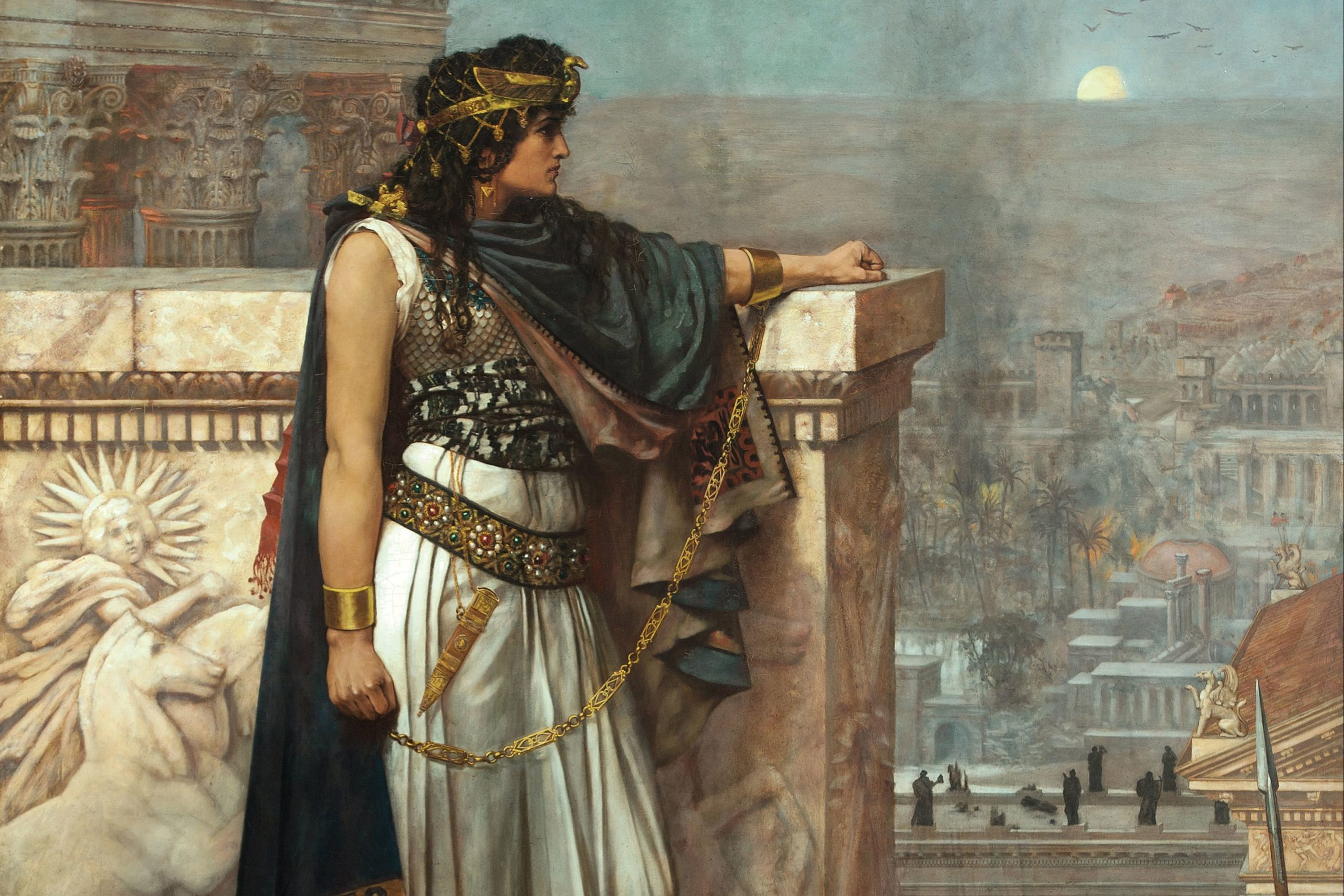 Zenobia, a third-century queen od the Palmyrene Empire in Syria