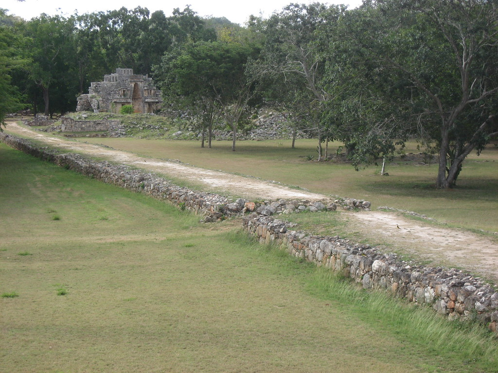 The white road built by mayan queen Lady K'awiil Ajaw