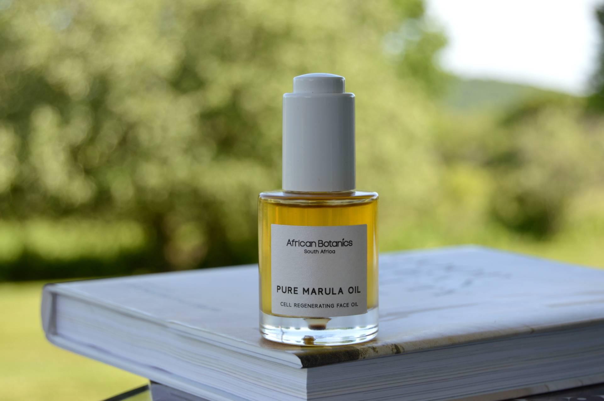 A bottle of natural oil
