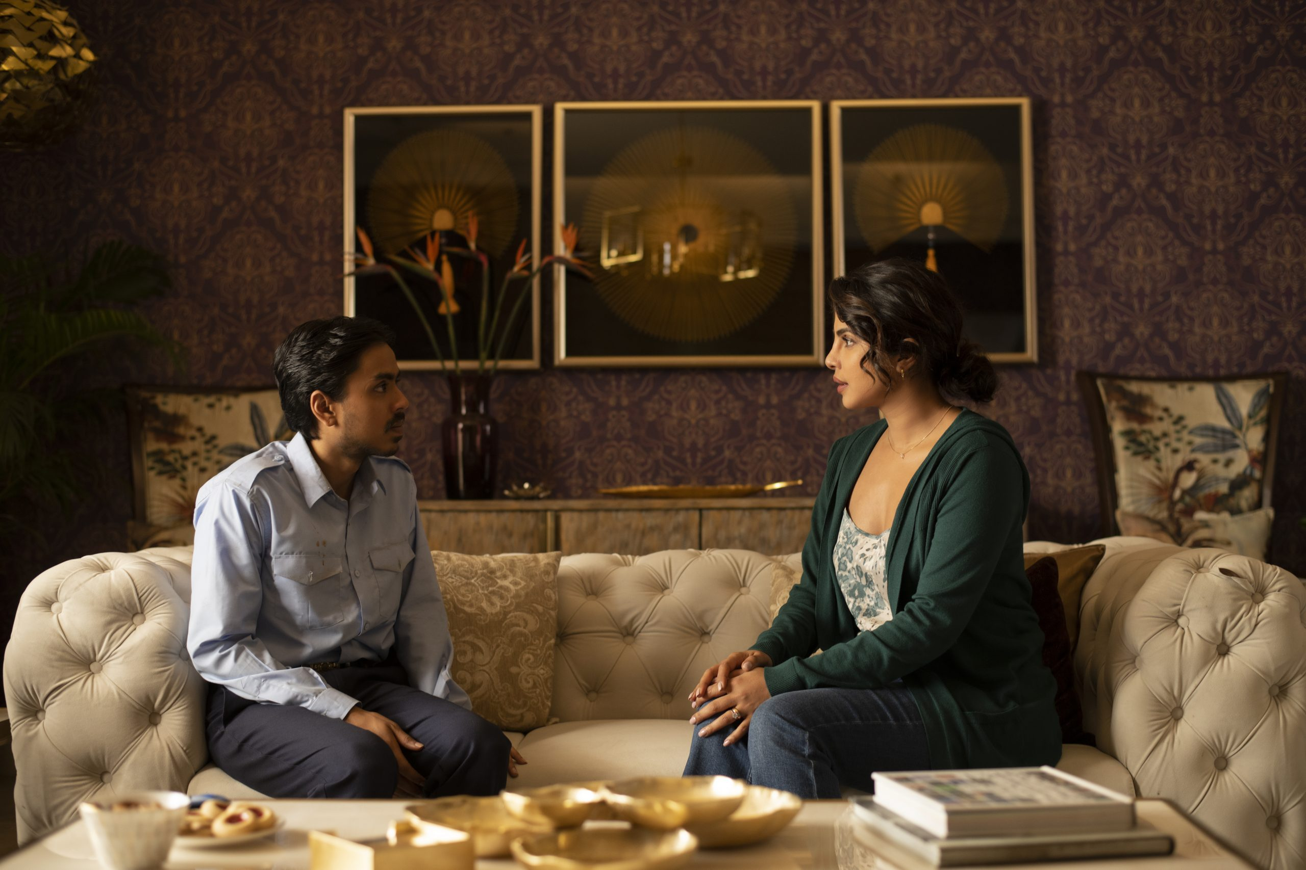 A scene from the movie featuring Pinky played by Priyanka Chopra Jonas