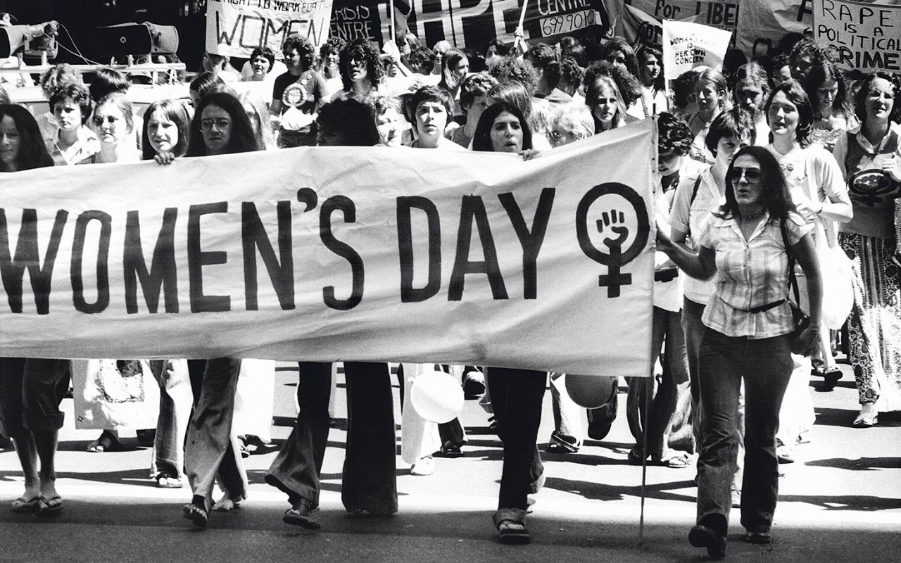 A Women's Day march