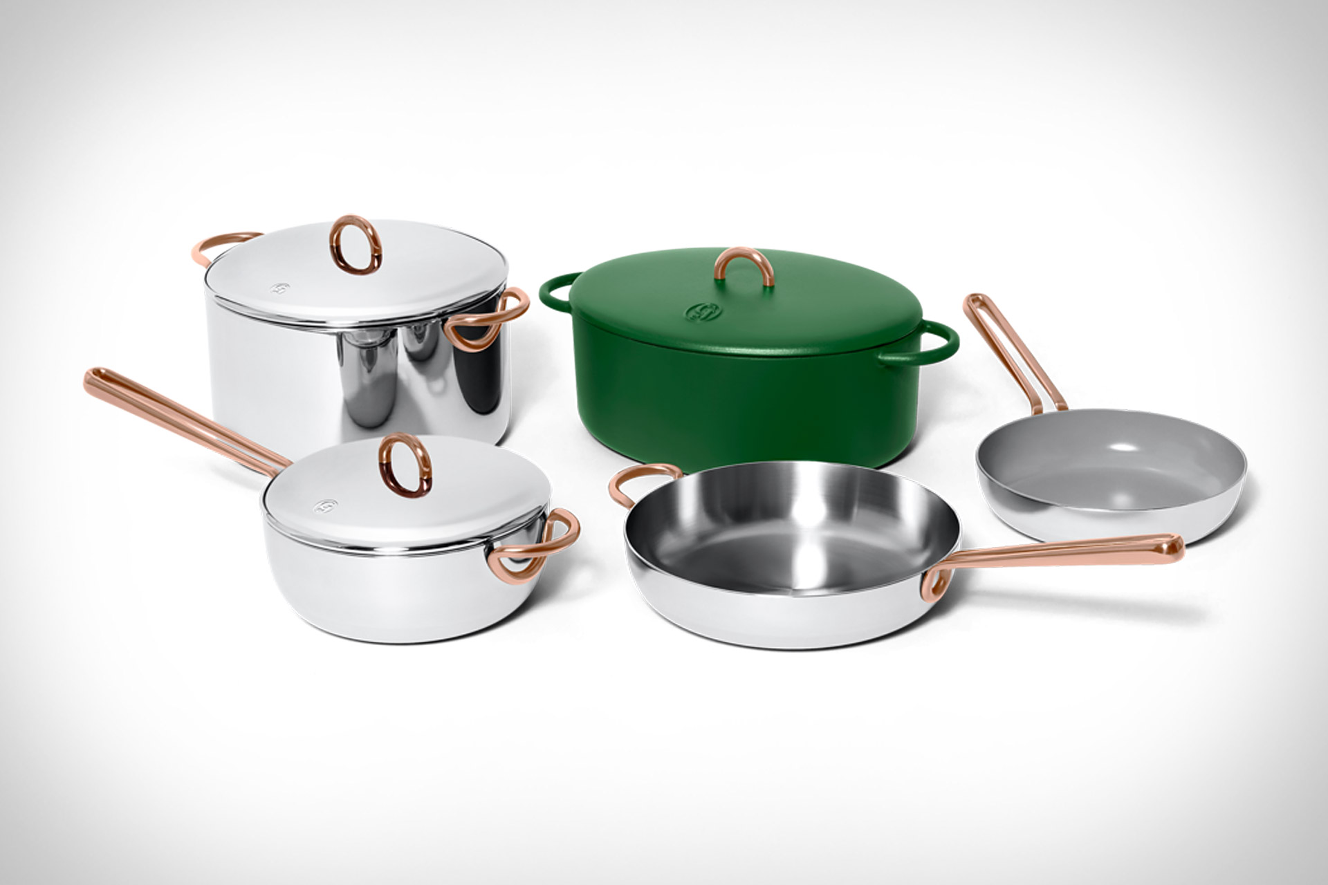 High-End cookware designed and produced by Great Jones.