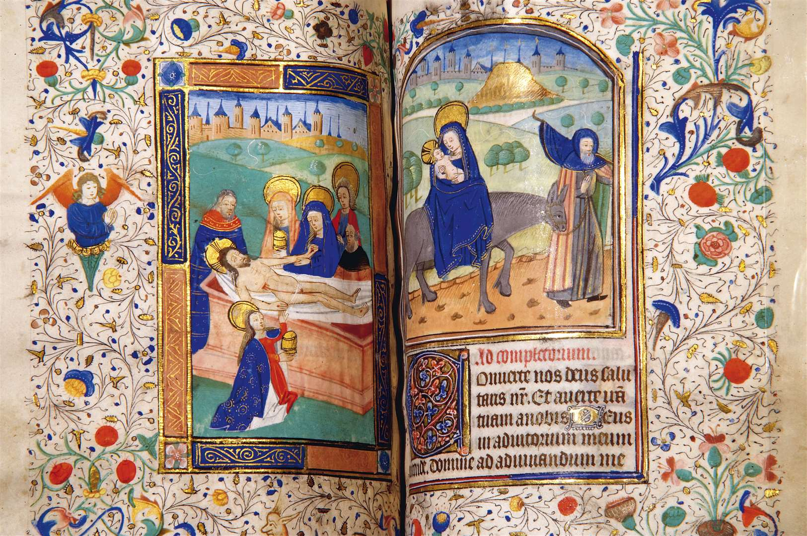 The Book of Hours - Anne Boleyn's prayer book.