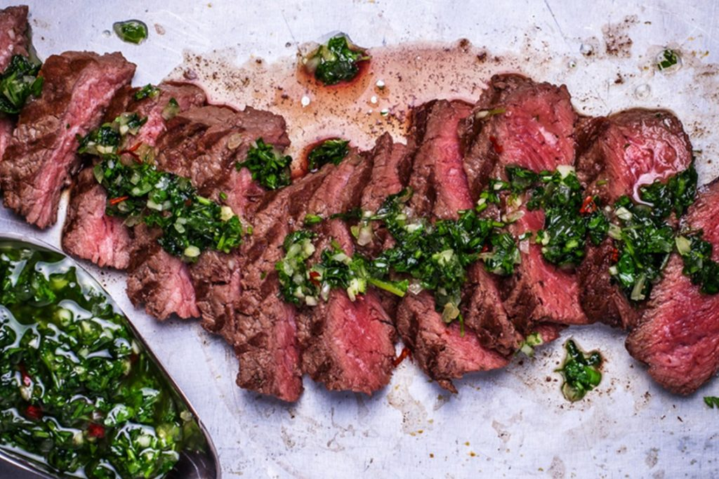 Chimichurri is the Only Sauce to Make a Steak Better with Zingy Freshness